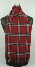 BURBERRY SCARF 100% CASHMERE FOR MEN AND WOMEN MADE IN ENGLAND