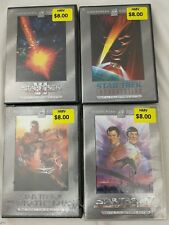 4 Star Trek - The Motion Pictures DVDs (Special Collector's Edition)