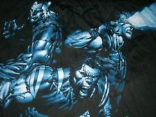 Marvel X-MEN Wolverine Cyclops Colossus Black Boxers Underwear 2006 Men's Lg New