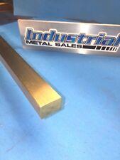 """3/4"""" x 1"""" x 12""""-Long 360 Brass Flat Bar -->.750"""" x 1"""" 360 Brass Flat Bar"""