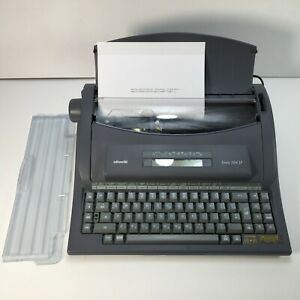 Olivetti Dora 204 SP Portable Electric Typewriter ~ Fully Working