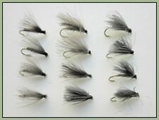 F Fly, Trout Fishing Flies, 12 Pack F Fly, Olive, Black, Hares Ear, 14/16/18