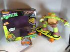 TMNT Teenage Mutant Ninja Turtle Skateboarding Mikey Michelangelo RC XPV Jakks