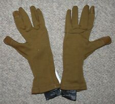 US Army Issue Outdoor Research (OR) Coyote Tan MGS Wool Liner Gloves NEW Medium