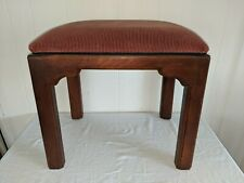 Gorgeous Ethan Allen Bench Chinoiserie  Ottoman Stool No 2