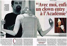 Coupure de presse Clipping 1995 (3 pages) Maurice Béjart
