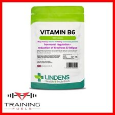 Lindens Vitamin B6 100mg 100 Tablets Hormone Balancer Metabolism