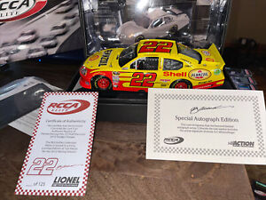 AJ Allmendinger #22 Shell 12 Charger Elite Autograph B14