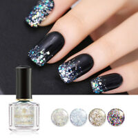 BORN PRETTY 6ml Holographic Glitter Nail Polish Nail Art Varnish  Tips