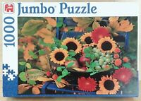 SUNFLOWERS 1000 PIECE JIGSAW PUZZLE BY JUMBO EXCELLENT CONDITION