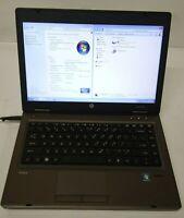 HP ProBook 6465b AMD A4 3310MX 2.1GHz 4GB RAM 250GB HDD Windows 7 No Battery