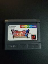 Samurai Shodown 2 Neo Geo Pocket Color NRMT condition game cartridge authentic