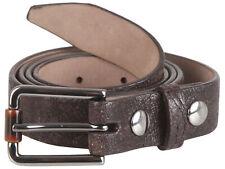 "Brunello Cucinelli women's crocodile leather belt size S Italy 40 US 4"" GB 8"