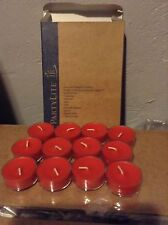 Partylite Fireside Tealights Candles New Box Hard To Find!