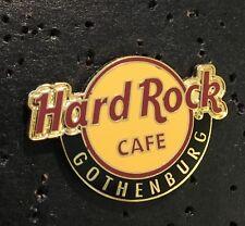 Hard Rock Cafe GOTHENBURG, SWEDEN*  RED HRC CLASSIC LOGO PIN 4LC 2 TACKS HRC