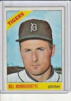 Bill Monbouquette 1966 Topps Baseball Card #429 (B)