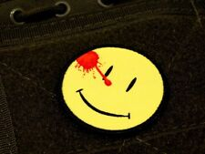 ZOMBIE HUNTER TACTICAL: THE WATCHMEN PATCH W/VELCRO® COMEDIAN SMILEY FACE :)