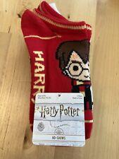 Boys Harry Potter 5 Pack Socks NEW