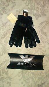 BNWT Armani Collezioni 40g insulation Mens Gloves | L