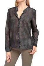 Klassische Damenblusen, - tops & -shirts aus Baumwolle mit Tiermuster