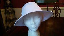 KANGOL RAZOR Trilby Hat in White X Large Unisex NEW