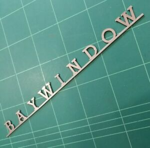 BAYWINDOW Script Badge for VW volkswagen _B_A_Y_W_I_N_D_O_W_ earlybay VAC999