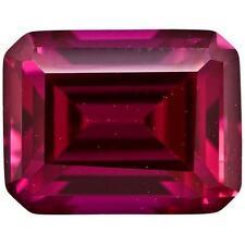 Ruby - 7x5mm Emerald Cut Loose Lab-Created Gemstone