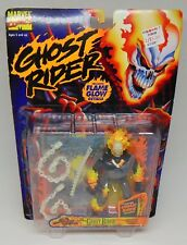 """New ToyBiz 1996 The Original Ghost Rider Flame Glow Action Figure Sealed 5"""""""