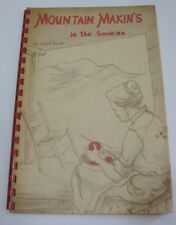 Mountain Makin's in the Smokies Recipe Cook Book 1957 Spiral Bound Illustrated