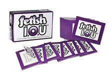 Fetish IOU! | Pull Tabs Card Game | Kinky Adult Fun Naughty Gift
