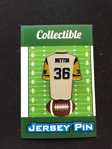 Los Angeles Rams Jerome Bettis jersey lapel pin-Collectable-Hop on the BUS!
