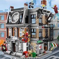 Avengers Infinity War Sanctum Showdown Marvel Compatible 76108 Kids Toy HOT SALE
