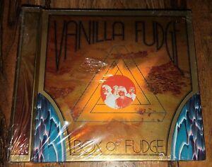 Vanilla Fudge Box Of Fudge NEW RARE OOP 2010 Rhino Handmade 4 CDs Live Tracks