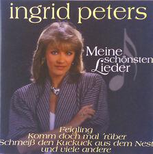 CD - Ingrid Peters - Meine schönsten Lieder - #A1292