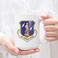 US Air Force Air National Guard Ink Printing Tea Ceramic Mug Coffee Cup Teacups