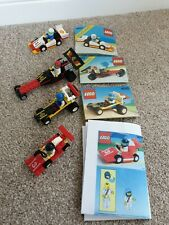 Lego City race Cars - 6503, 6510, 6526, 1477 including instructions