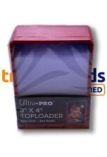 Ultra PRO Toploader - Red Border - Pack Of 25