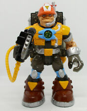 2001- RESCUE HEROES - VOICE TECH - JACK HAMMER W/ BACKPACK - FISHER PRICE
