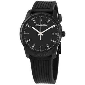Calvin Klein Evidence Quartz Black Dial Men's Watch K8R114D1