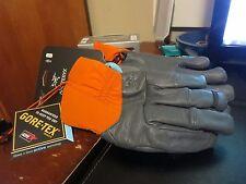 New Mens Arcteryx Anertia Gloves Size Medium Color Nightflash Goretex