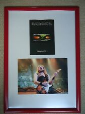 More details for iron maiden fan club magazine no 75 + iron maiden photo rare gig image two gems