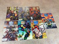 JUDGE DREDD LEGENDS OF THE LAW #7,8,9,10,11,12,13 LOT OF 7 COMIC NM 1995 DC