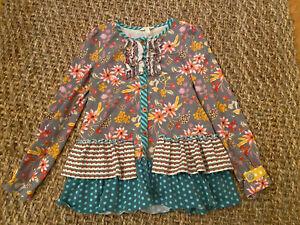 Matilda Jane Size 10 Ruffle Tunic