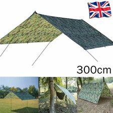 Waterproof Tarp Tent Camping Awning Tent Sun Shelter Hammock Outdoor Rain Cover