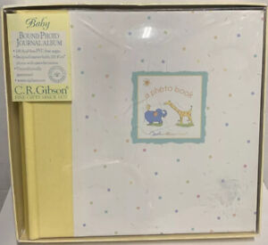C.R. Gibson/Carters Real Love Baby Bound Photo Journal Album BP21-62 New In Box
