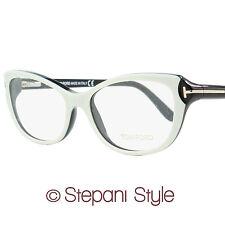 Tom Ford Oval Eyeglasses TF5286 024 Size: 52mm Ivory/Black 5286