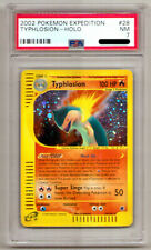 Pokemon Typhlosion Holo 28/165 Expedition PSA 7 NM
