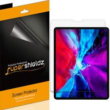 3X SuperShieldz Clear Screen Protector for New Apple iPad Pro 12.9 (2020/ 2018)