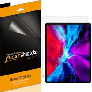 3X Supershieldz Clear Screen Protector for Apple iPad Pro 12.9 (2021/2020/ 2018)