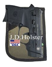 Handgun Pistol Pocket Holster,Backpack,Purse S&W Bodyguard  (Green)